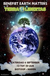 benefiet Earth Matters: Terra Libertas - Haren @ Biotoop    Haren   Groningen   Nederland